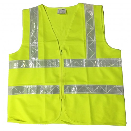 เสื้อกั๊กสะท้อนแสงแถบ PVC