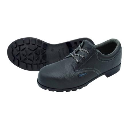 รองเท้าเซฟตี้หุ้มส้นสีดำ พื้นไนไตร ยี่ห้อ SIMON