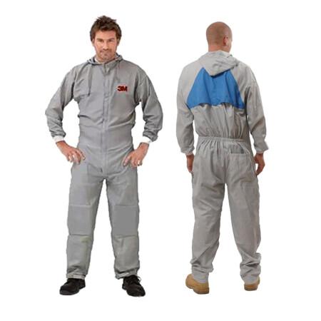ชุด PPE ป้องกันสารเคมี สีเทา 3M50425